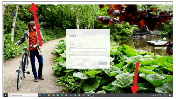 MPOS  - 具有双显示屏时打开完整(自助服务终端)屏幕模式 / MPOS – Open full (kiosk) screen mode when having dual display