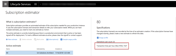 Dynamics 365 F&O – Selecting the correct Tier level on your