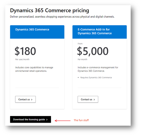 D365 –深入了解电子商务定价 / D365 – A deeper look into eCommerce pricing
